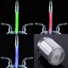 Embout de robinet lumineux led à capteur de température