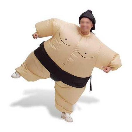 Costume gonflable Sumo