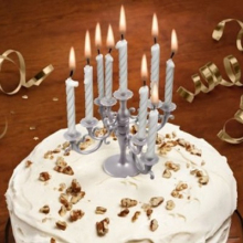 Chandelier porte-bougies anniversaire