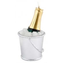 Bougie seau à champagne