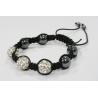 Bracelet Shamballa 3 perles