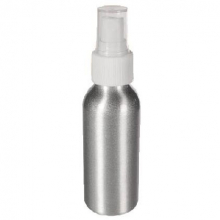 Flacon avec spray 100 ML en aluminium