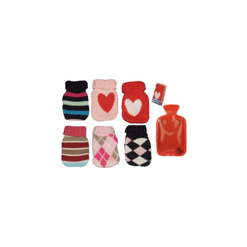 chaufferette de poche avec housse tricot ebay. Black Bedroom Furniture Sets. Home Design Ideas