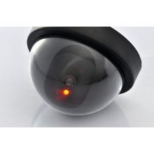 Caméra dôme factice avec lumière rouge