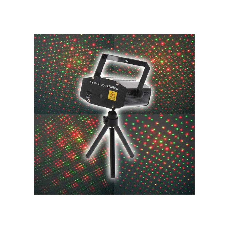 Projecteur laser multipoint vert et rouge for Laser projecteur