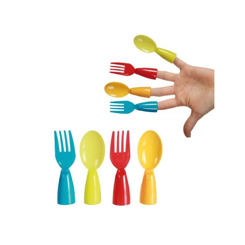 Couverts pratiques pour les doigts for Ustensile cuisine pratique