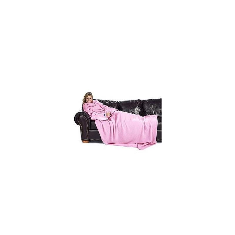 couverture polaire plaid avec manches longues. Black Bedroom Furniture Sets. Home Design Ideas