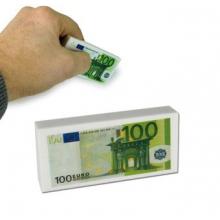 Gomme billet de 100 euros