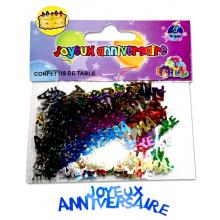 """Confettis de table """"Joyeux Anniversaire"""""""