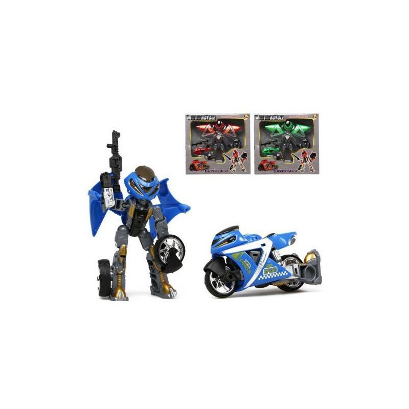 Moto robot transformable