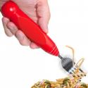 Fourchette à spaghettis avec tête tournante électrique