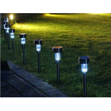 Lampes solaires (lot de 8)