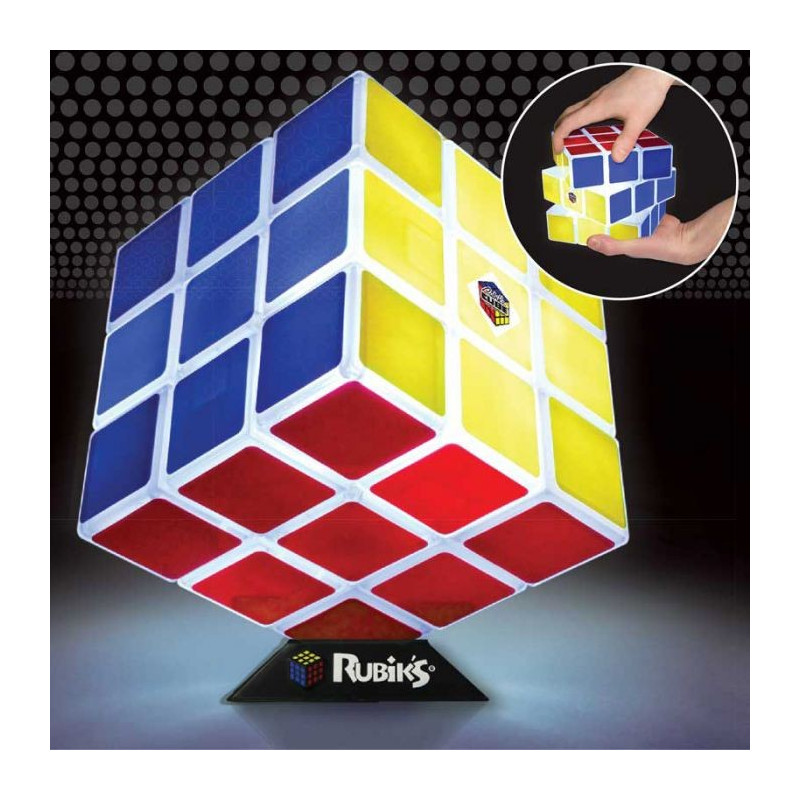 Rubik's Cube géant lumineux