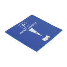 Nouveau disque de stationnement plastifié européen