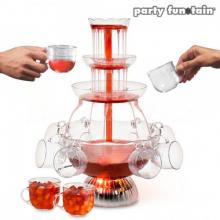 Fontaine à cocktails lumineuse