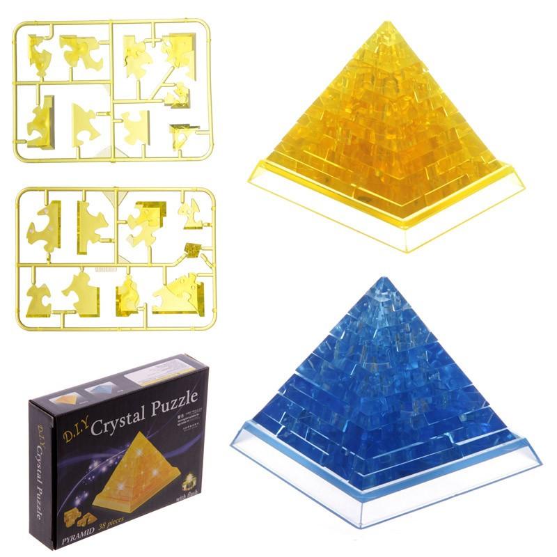 puzzle 3d pyramide lumineuse. Black Bedroom Furniture Sets. Home Design Ideas