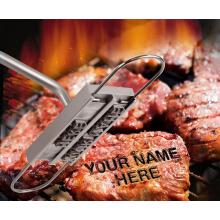 Fer à marquer la viande pour le barbecue