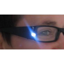 Lunettes de lecture loupe éclairantes à LED