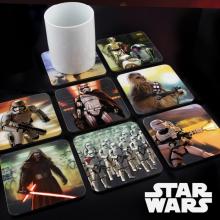Dessous de verre animés Star Wars épisode 7 : le réveil de la force
