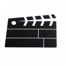 Etiquettes porte nom clap de cinéma (lot de 25)