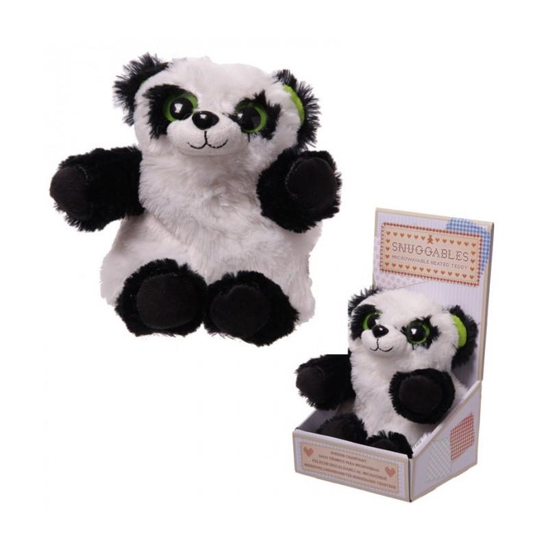 Peluche panda bouillotte pour micro ondes - Peluche bouillotte micro onde ...