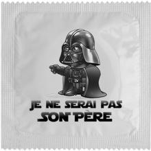 Préservatif humoristique DARKAPOTE Star Wars : Dark Vador