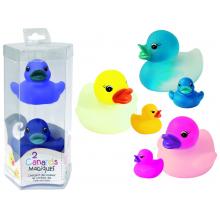 Canards magiques de bain qui changent de couleur (lot de 2)