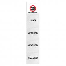 Kit de préservatifs 30 ans (lot de 4)