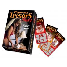 Chasse aux trésors sexy : le jeu sexy pour couples