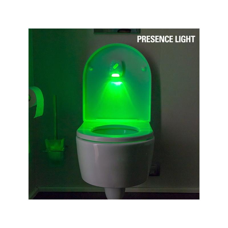 lampe avec d tecteur de mouvements pour la cuvette des toilettes. Black Bedroom Furniture Sets. Home Design Ideas