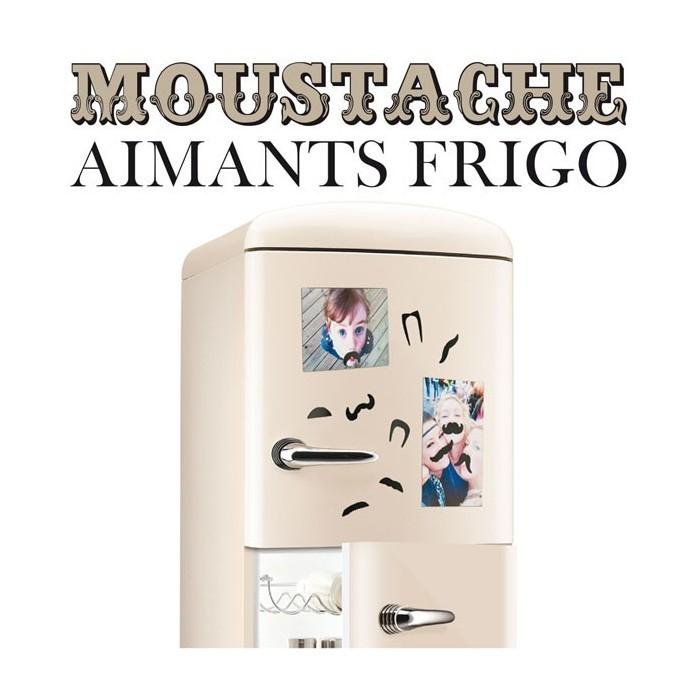 Aimants moustaches (lot de 10)