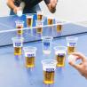Jeu à boire de bière-pong : le ping-pong pour adulte