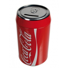 Tirelire canette Coca Cola