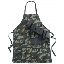 Tablier barbecue camouflage