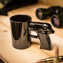 Mug Pistolet noir