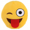 Coussin XL Emoticon Smiley clin d'oeil rigolo