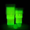 Jeu de Bière Pong Fluorescent