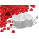 Set de 2 Tasses Coeur