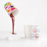 Lampe tasse de café renversée