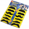 Lot de 12 fausses moustaches adhésives
