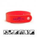 Bracelet anti moustique rouge