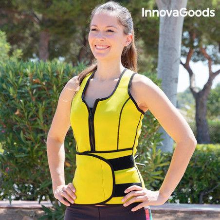 Gilet-Ceinture de Sport avec Effet Sauna pour Femme InnovaGoods