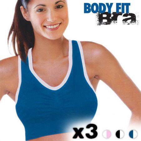 Soutiens Gorge de Sport Body Fit Bra (Pack de 3)
