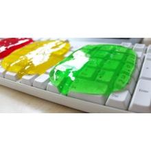 Pâte nettoyante pour clavier d'ordinateur