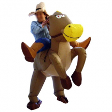 Costume gonflable cowboy