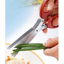 Paire de ciseaux hachoir 5 lames