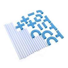 Paille labyrinthe 30 pièces à construire