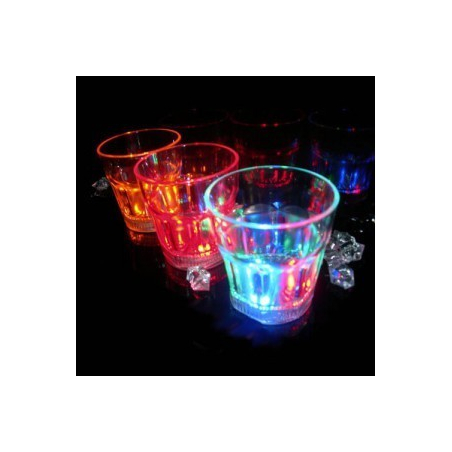 Verre shooter lumineux