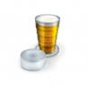Verre à bière pliable