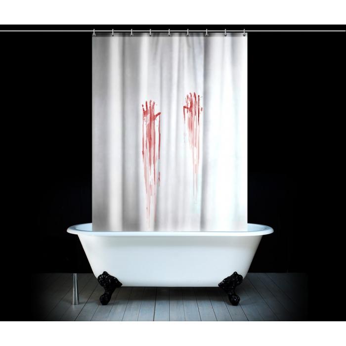 Rideau de douche meurtre